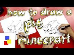 draw pig minecraft eli