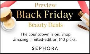 best staurday after black friday deals sephora black friday sale sneak peek shopping deals and black friday