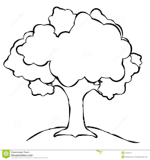 free simple tree outline 63 on to with simple