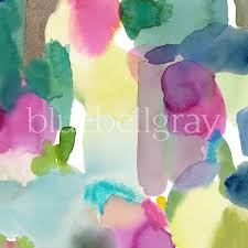Designer Material For Curtains Big Rothesay Fabric Abstract Pattern Designer Fabric Bluebellgray