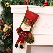personalized 3pc christmas stockings christmas tree ornaments