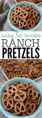 easy snack idea garlic ranch pretzels recipe try this kid