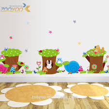 toddler room wall stickers all about room whole zooyoo kids height measurement wall sticker growth chart