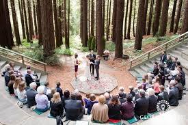 Berkeley Botanical Garden Wedding And Robert Had Beautiful Wedding In The Garden S Redwood
