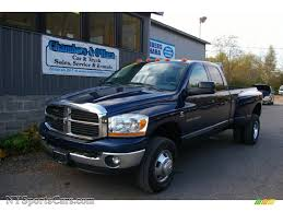 2006 Dodge Ram 3500 Truck Quad Cab - 2006 dodge ram 3500 slt quad cab 4x4 dually in patriot blue pearl