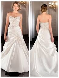 wedding dress ruching soft silk sweetheart a line wedding dress with beaded bodice