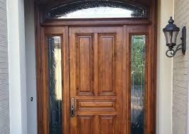 glass panel front door front door with side panel glass image collections glass door