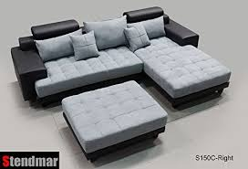 grey sectional sofa with chaise 3pc modern black grey sectional sofa chaise ottoman s150crbg best