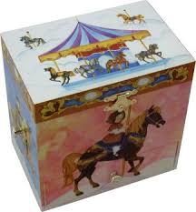 Childrens Music Boxes Carousel Musical Treasure Box Music Box World Uk Children U0027s Music