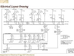 Floor Plan With Electrical Layout Ppt Power Grid Design