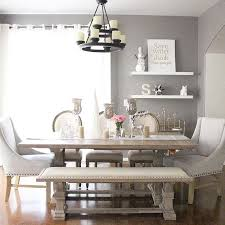 Stunning Dining Room With Bench Gallery Room Design Ideas - Dining room tables with a bench