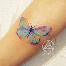 Butterflies Tattoos On - best 25 watercolor butterfly ideas on drawings