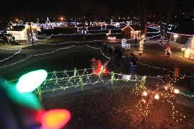 christmas night of lights begins at storybook island local
