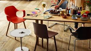 rectangular solid wood dining table wood table by vitra design