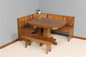 Mission Breakfast Nook Set From DutchCrafters Amish Furniture - Kitchen nook table