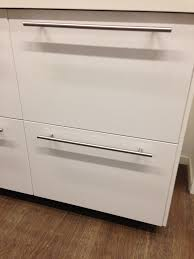 Ikea Kitchen Cabinet Door Handles Ringhult Kitchen Cupboard Doors From Ikea In Gloss White With T