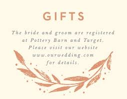 cool wedding registries customizable wedding registry cards by basic invite