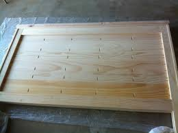 reclaimed wood headboard queen smoon co