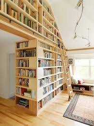 Rolling Bookcases Contemporary Ladder Bookshelves Living Room Contemporary With