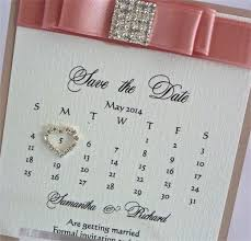 save the date calendar bewitching stationery save the date