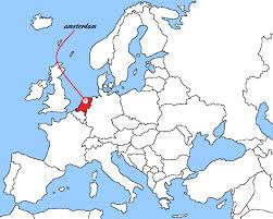 where is amsterdam on a map travel where i amsterdam netherlands