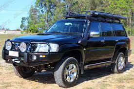 black nissan nissan patrol gu wagon black 62577 superior customer vehicles
