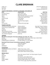 Resume For Theater Microsoft Template For Resume Pay To Write Professional Expository