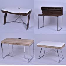 Simple Computer Desk Study Table Wooden Modern Simple Computer Desk Design Socket