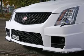 cadillac cts v grill 2012 cadillac cts v with satin white wrap by camshaft