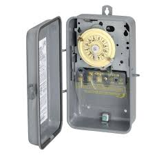24 hr timer light switch intermatic t101r series 40 amp 125 volt 24 hour spst mechanical time