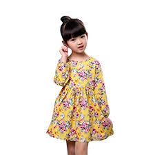 amazon com ama tm baby kids cotton long sleeve princess