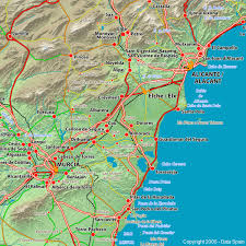 maps of spain large map of spain s cities and regions