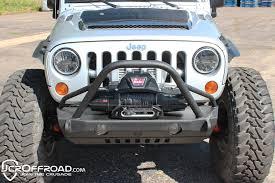 jeep wrangler road bumper jk front bumper dagger stubby jeep wrangler 07 17 jcroffroad