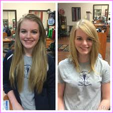 before and after picuters of long to short hair long hair cut short before and after stylesstar com
