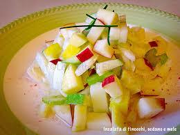 insalata di sedano e mele insalata di finocchi sedano e mele food