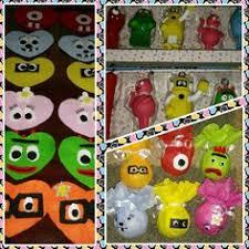 yo gabba gabba ornaments with a creativity and