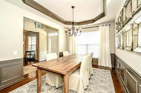 Pictures Of Wainscoting In Dining Rooms Wainscoting Design Ideas Dining Room Transitional Medium Tone Wood