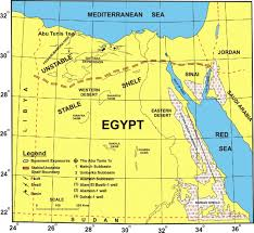 Map Of Egypt And Africa by Early Cretaceous Palynostratigraphy Of The Abu Tunis 1x Borehole