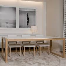 Solid Top Dining Table by Xvl Home Collection Ceylan Dining Table With Corian Table Top