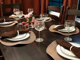 Table Settings Ideas Elegant Everyday Table Settings Hgtv