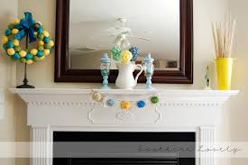 fireplace decorations for spring gqwft com