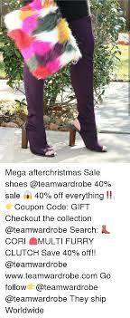 7个念 mega afterchristmas sale shoes 40 sale 40 off everything