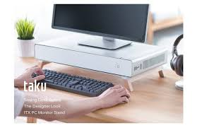 Kickstarter Gaming Desk Cryorig Releases The Taku Monitor Stand Pc On Kickstarter