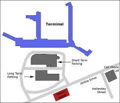 Map Of New Orleans Airport by Airport Parking Map New Orleans Airport Parking Map Jpg
