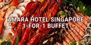 element cuisine discount element amara hotel singapore 1 for 1 buffet promotions dining