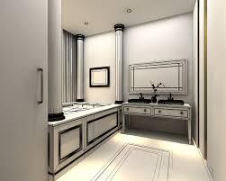 3d Bathroom Design 3d Models Photoreal Bathroom Cgtrader