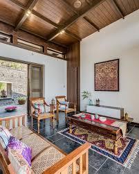 hermitage retreat asian living room pune by studio hu u0027māne