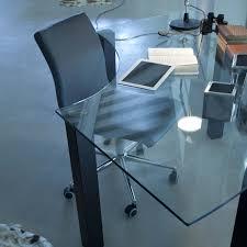 Schreibtisch In L Form Musa Glas Schreibtisch Nach Maß Arredaclick