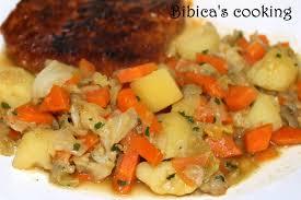 cuisiner le chou pointu poêlée de chou pointu carottes et pommes de terre bibica s cooking