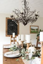 rustic thanksgiving dining room hendrick design co